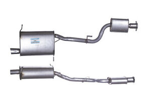 Exhaust Box with Tail Pipe / Rear Back Silencer For BMW Z3 GBM339 BM339