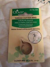 Clover Thread Cutter Ring