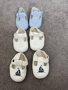 Baby Boy Pram Shoes Bundle X 3 Spanish Style Size 0 Baypods