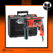 BLACK+DECKER. Trapano percussione 710W - Percussion drill 710W | CD714CRESKA-QS