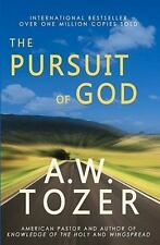 The Pursuit of God by A. W. Tozer (2010, Paperback)