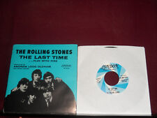 """THE ROLLING STONES """"The Last Time"""" w/Pic London 9741"""