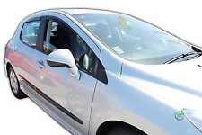Dpe26132 PEUGEOT 308 Hatchback 2007-2013 deflettori del vento 4pc HEKO colorata