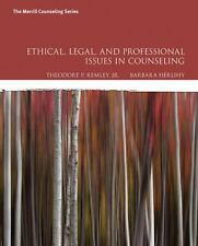 Ethical, Legal, and Professional Issues in Counseling, 5th Edition (Herlihy)