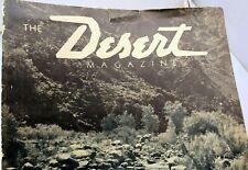 THE DESERT MAGAZINE - September 1946  Mojave Arizona