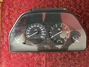 OEM BMW e34 520i 525i 528i 530 Instrument cluster DASHBOARD Speedomeeter 8361123