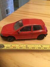 Bburago Model Car Fiat Bravo Mk1 Red 1:43 Scale