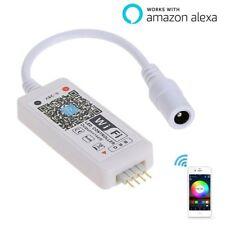 LED Wifi Controller, RGB Led Light Strip Voice Control From Alexa, WIFI Wireless