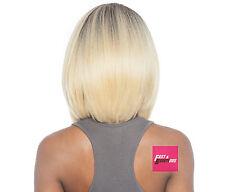 BSS102 LEXUS - ISIS Brown Sugar Human Hair Blend Full Wig Signature Part