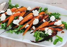 5 ingredient Recipe-Burnt Carrot Salad quick healthy w/ Cooking video