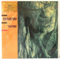 "Ministry Twitch Adrian Sherwood 12"" LP Orange Vinyl 180g Audiophile #844 of 1000"