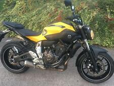 Yamaha MT-07, 700cc, 2015/15 reg, 6200 MILES, SUPERB IN YAMAHA YELLOW