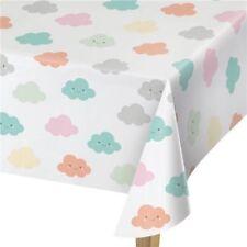 Decoración y menaje manteles de plástico de baby shower para mesas de fiesta