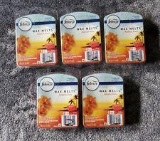 (Lot Of 5) Febreze Wax Melts Bars Hawaiian Aloha ~ Rare
