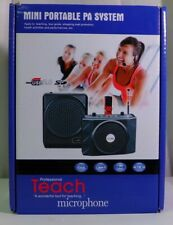 Mini Portable PA System for Teaching, Health Activities and Meetings