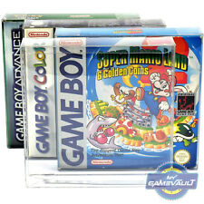 5 x GameBoy / Color Game Box Protectors STRONGEST 0.5mm PET Plastic Display Case