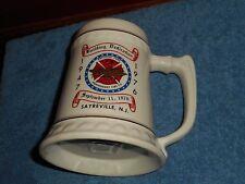 President Park Fire Co. SAYREVILLE NJ 1976 Building Dedication Ceramic Mug