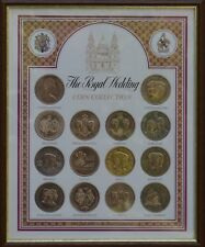 1981 The Royal Wedding Prince Charles and Diana 12 Crown Coin Collection