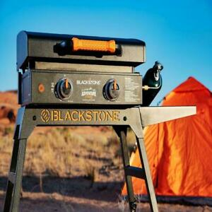"""Blackstone Adventure Ready 22"""" Griddle with Stand and Adapter Hose Camping New"""
