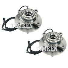 Pair Set of 2 Front Timken Wheel Bearing and Hub Kit for Ford Lincoln 07-10 RWD