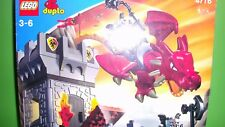 Lego Duplo Ritterburg 4776 Drachenturm,Drache,Ovp,Bauanleitung,Komplett