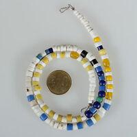 8899 Halskette aus alten Glasperlen Böhmen Venedig Trade Beads