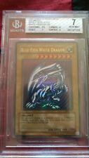 Yu-Gi-Oh Blue-Eyes White Dragon Early Print SDK-001 Unlimited BGS 7 NM
