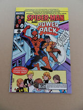 Spider- Man  & Power Pack . NEA Promo . Marvel 1984 . VF