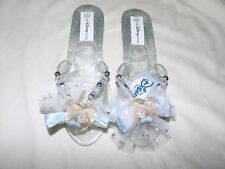 Disney Store Princess Cinderella Costume Dress Up Shoes Jelly Girls 13/1 New
