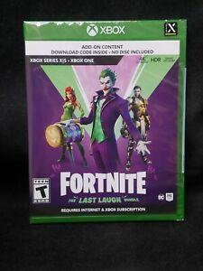Fortnite: The Last Laugh Bundle (No Disc Version) (Xbox One/Xbox Series X) NEW