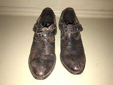 Women's Frye Ankle Boots Cowboy Cowgirl Western Wear Booties Studs Biker Size 9