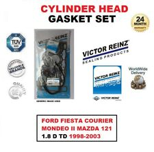 HEAD GASKET SET for FORD FIESTA COURIER MONDEO II MAZDA 121 1.8 D TD 1998-2003