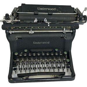 Vintage Underwood Typewriter; Made In USA 1940's, 1950's