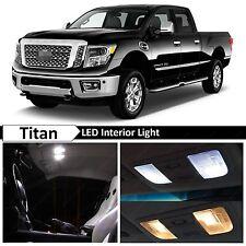 19x White Interior LED Lights Package Kit 2004-2016 Titan Truck + TOOL