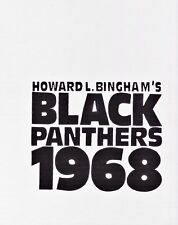 BLACK PANTHERS 1968 SIGNED BOOK PHOTOGRAPHY HOWARD L. BINGHAM HC NUMBERED 304