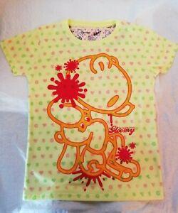 GLOOMY Chax  Mori Chack Yellow T shirts japan