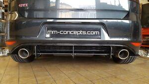 VW Golf VII 7 GTI Clubsport Duplex Auspuff Sportauspuff 2.0TSI 265PS 310PS Turbo