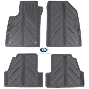 2015-2016 Buick Encore Titanium All-Weather Mat Package 42364957 OEM GM new