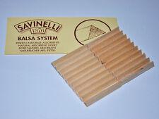 pz 100 FILTRI SAVINELLI in BALSA PER PIPA 6mm 5 confezioni come in foto pipe