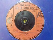 "IZHAR COHEN & THE ALPHA BETA A BA NI BI EUROVISION WINNER 1978 POP 7"" VINYL"
