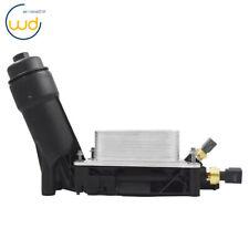 Engine Oil Filter Adapter Housing For 11-13 Jeep Dodge Chrysler 3.6 V6 5184294AE