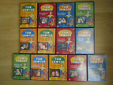 TOM SAWYER SERIE CLASICA EN DVD 13 DVDS DESCATALOGADOS MANGA ANIME !