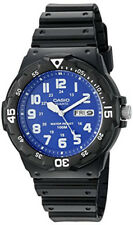 Casio Men's 'Classic' Quartz Resin Automatic Black Watch MRW200H-2B2V