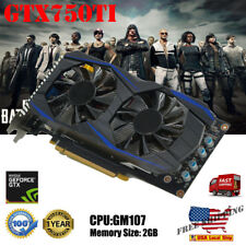US Original NVIDIA GeForce GTX750TI 2GB GDDR5 192bit VGA DVI HDMI Graphics Card