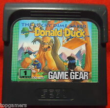 The Lucky Dime Caper starring Donald Duck - SEGA Game Gear GG