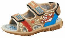 Boys Brown Sports Sandals Kids Open Toe Walking Shoes Summer Comfort Beach Shoes