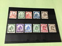 Burma Japanese Occupation 1943/1944 mint never Hinged & used Stamps Ref 51783