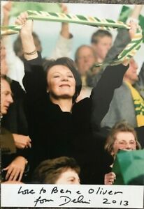 Delia Smith CBE, autographed hand signed photograph with COA
