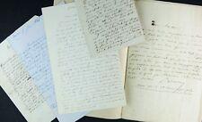 Romancier Prosper VIALON : Correspondance & Manuscrit