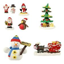 Santa,Snowman,Penguin,Robin,Tree, Christmas Cake Decorations MULTI LISTING